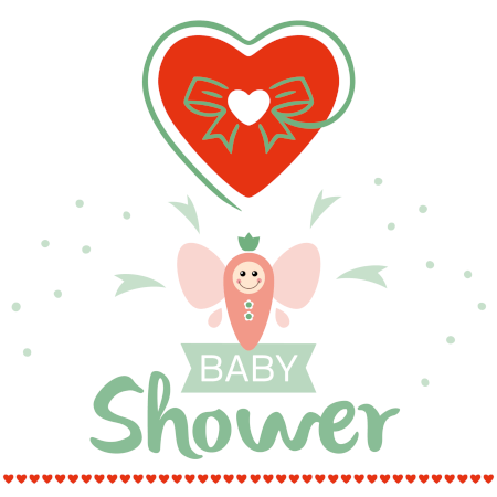 Gift card for baby shower