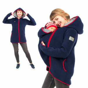 Babytragejacke Fleece JANKO in