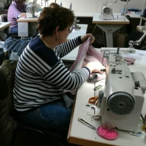 Our seamstresses at work